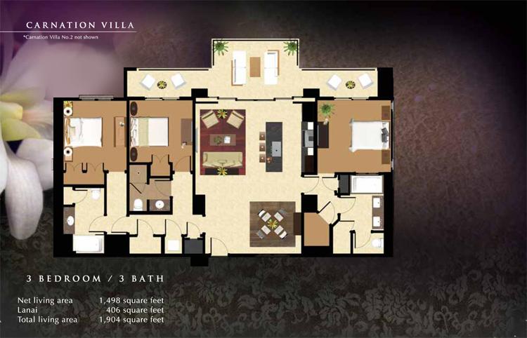Carnation_Floor_Plan_Ko_Olina_Beach_Villas_1498_sq_ft_3bd_3ba_v2