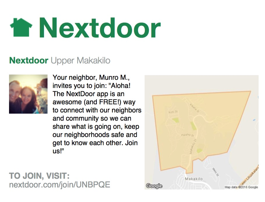next_door_app_invitation_munro_murdock_upper_makakilo_kapolei_oahu_hawaii