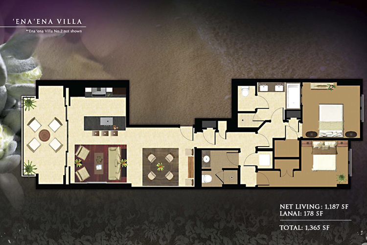 Beach Villas At Ko Olina Floor Plans Munro Murdock