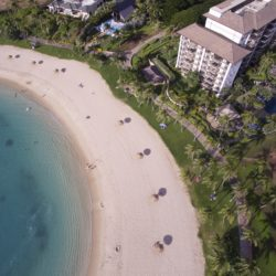 aerial view of ko olina beach villas in kapolei hawaii