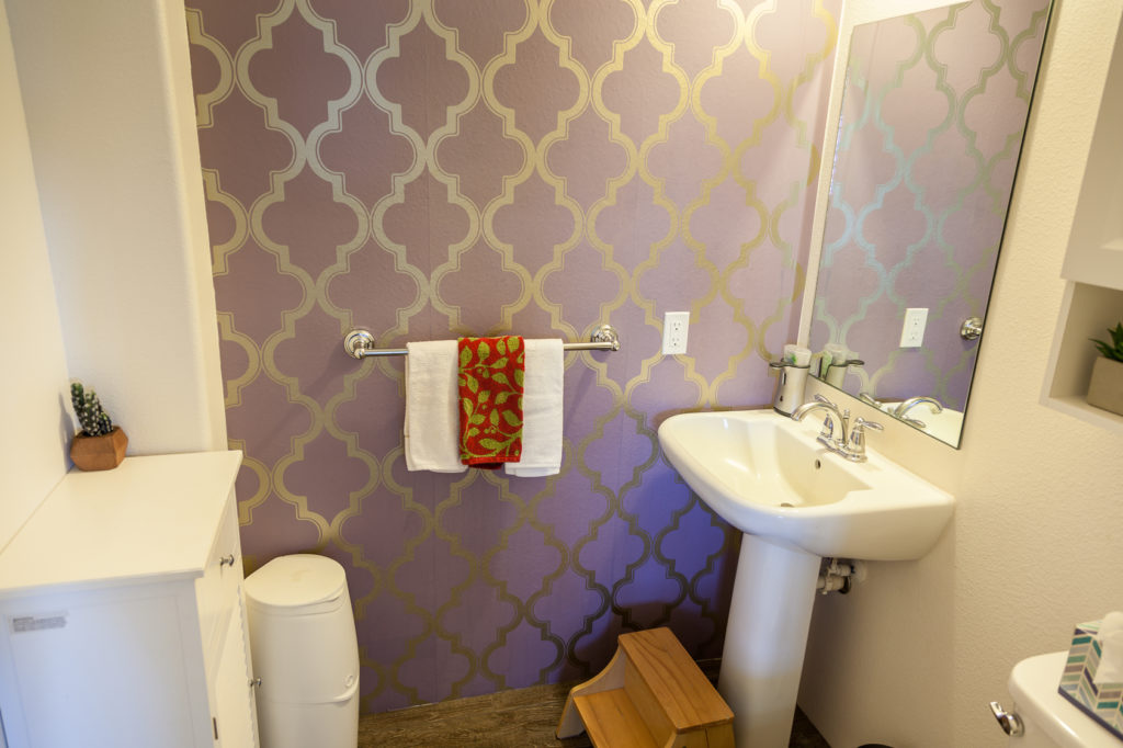 Half bath (powder room) on the Main Level
